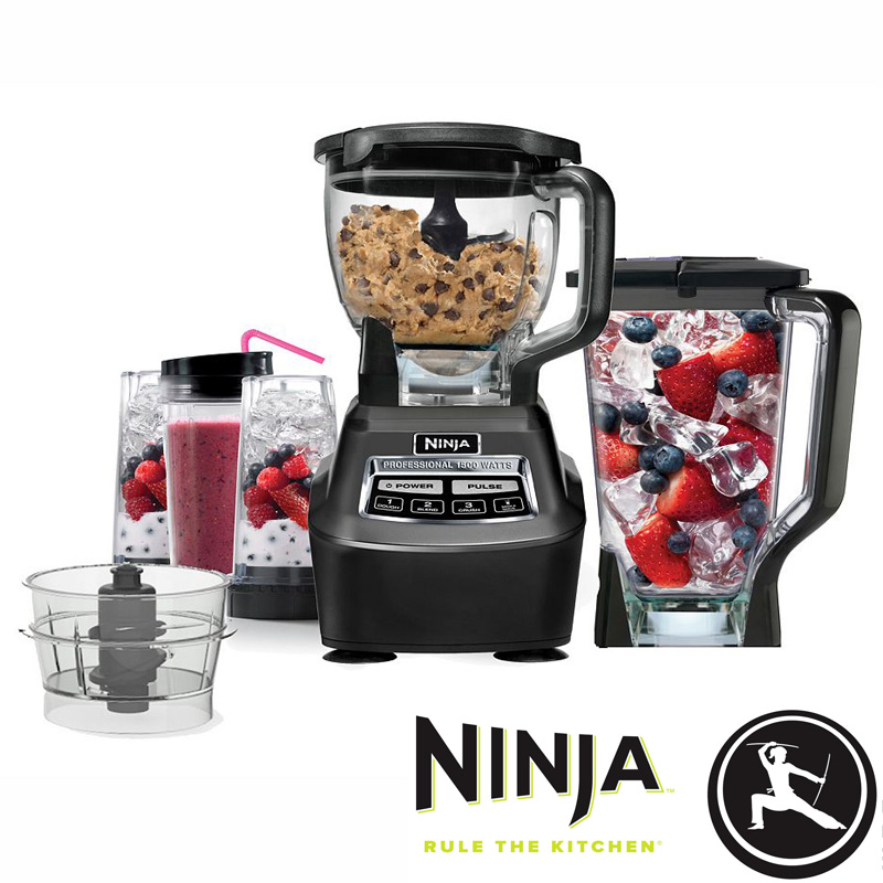 Ninja Mega Complete Kitchen System 1500 Blender & Food ...