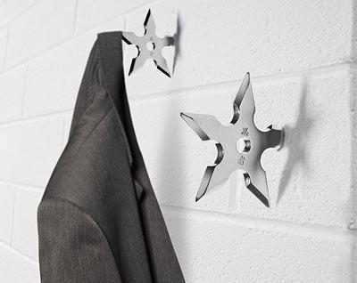 Ninja Star Coat Hook - $8.49 (...