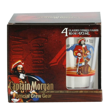 Captain Morgan 4 Piece Pint Glass Set 13 Deals