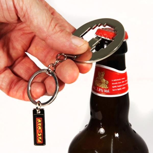 Retro-Pixelated-Pac-Man-Bottle-Opener-Key-Chain