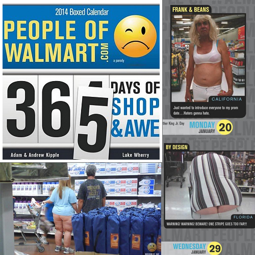 3 Pack People Of Walmart Com 2014 Boxed Calendar Makes Great
