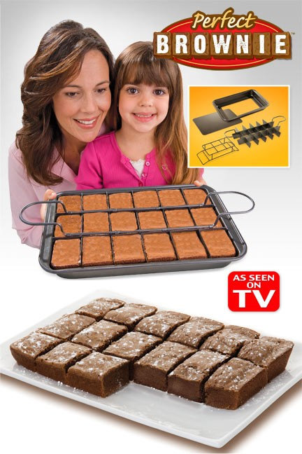 All Edges Deluxe Brownie Pan - Makes the Perfect Brownie! - 13 Deals