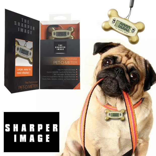 The-Sharper-Image-Pet-O-Meter-Pet-Pedometer