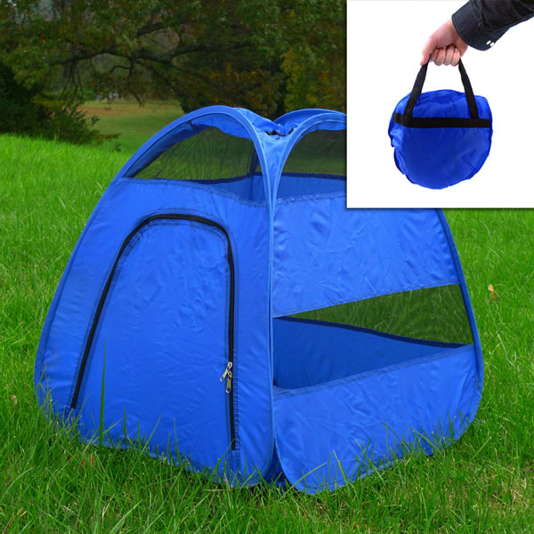 Pup Tent Pop-Up Dog (Or Cat) Tent - Perfect For Travelling u0026 Keeping Bugs Away from Your Buddy! - SHIPS FREE! - 13 Deals & Pup Tent Pop-Up Dog (Or Cat) Tent - Perfect For Travelling ...
