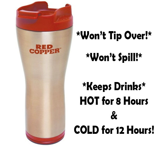 $9.49 (reg $30) Red Copper No-...