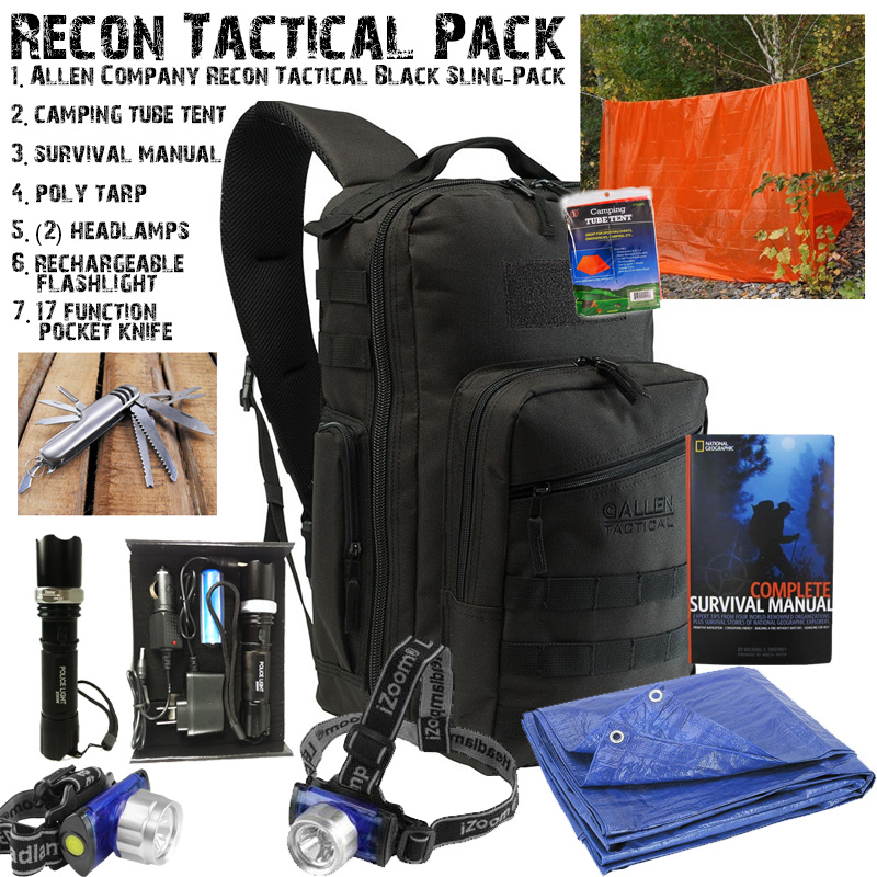 8 piece Recon Tactical Surviva...