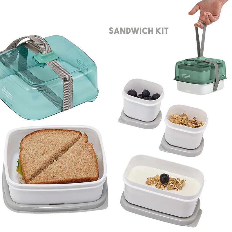 Rubbermaid Fasten+Go Sandwich.