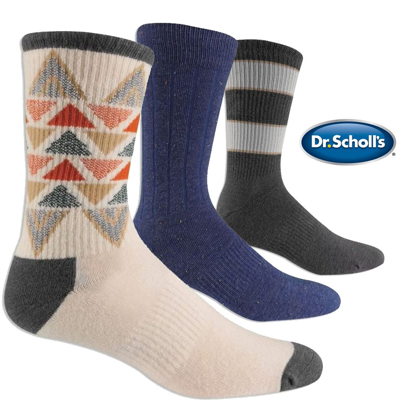 $11.99 (reg $36) 6 Pairs of Dr...