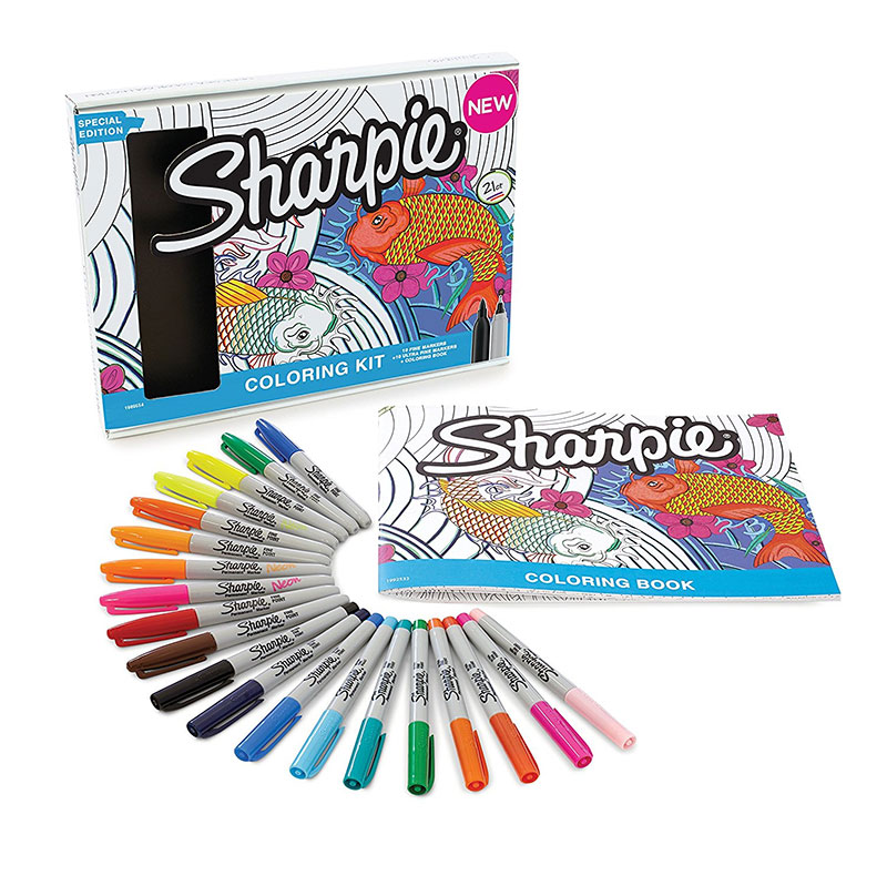 20 Sharpie Markers with Aquati...