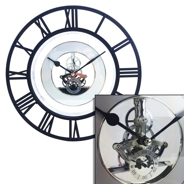 Geneva-10-in-Skeleton-Wall-Clock