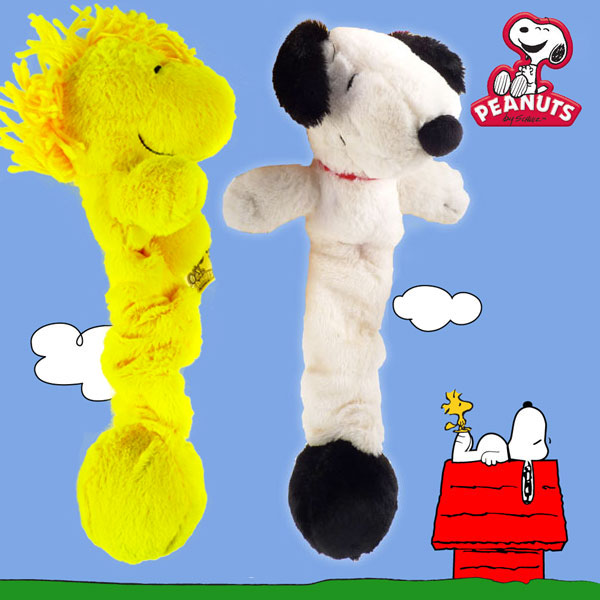 Snoopy-and-Woodstock-Plush-Bungee-Ball-Toys