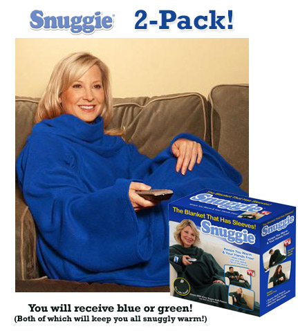 2 Pack Snuggies As Seen On Tv Time To Snuggle 13 Deals