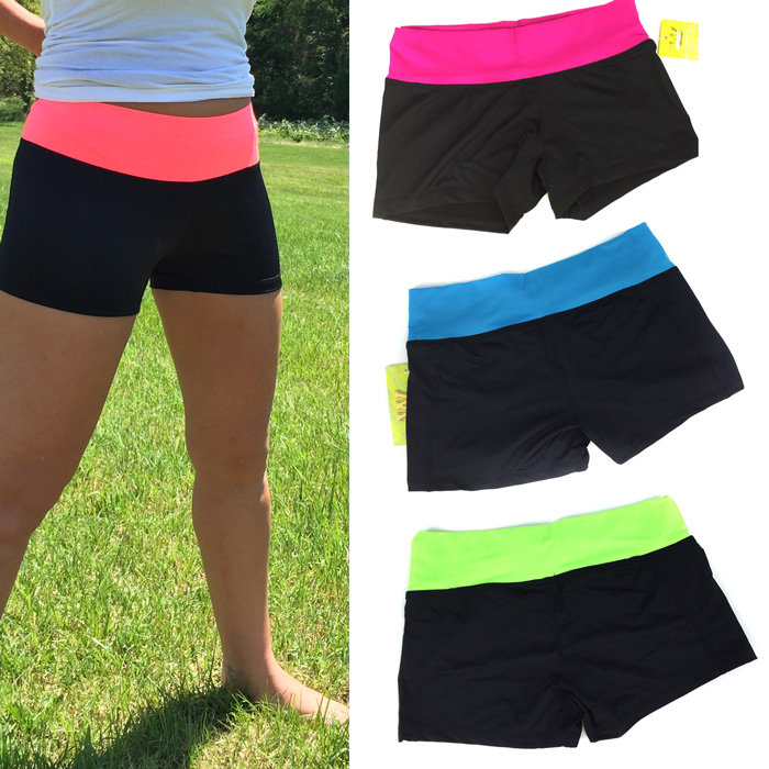 Womens-Quick-Dri-Sport-Shorts
