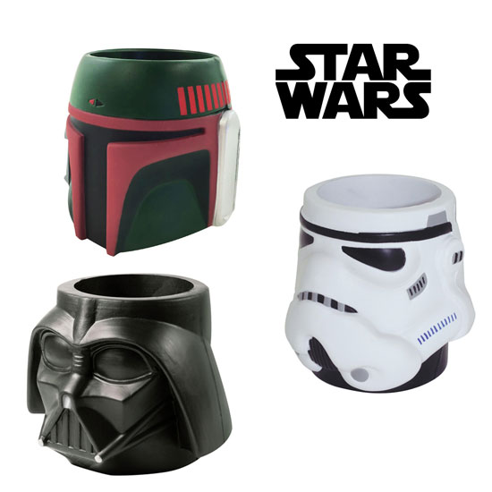 Officially Licensed Star Wars Foam Can Coolers - Vader, Storm Trooper and Boba Fett Available - SHIP FREE!