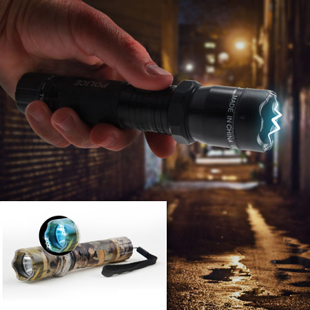 Aluminum Rechargeable LED Flashlight