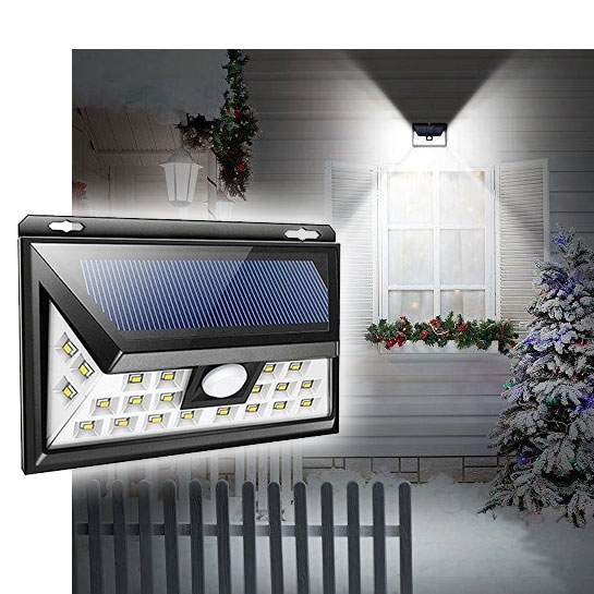$8.49 (reg $30) Solar Powered Motion Sensor Weather Proof Light