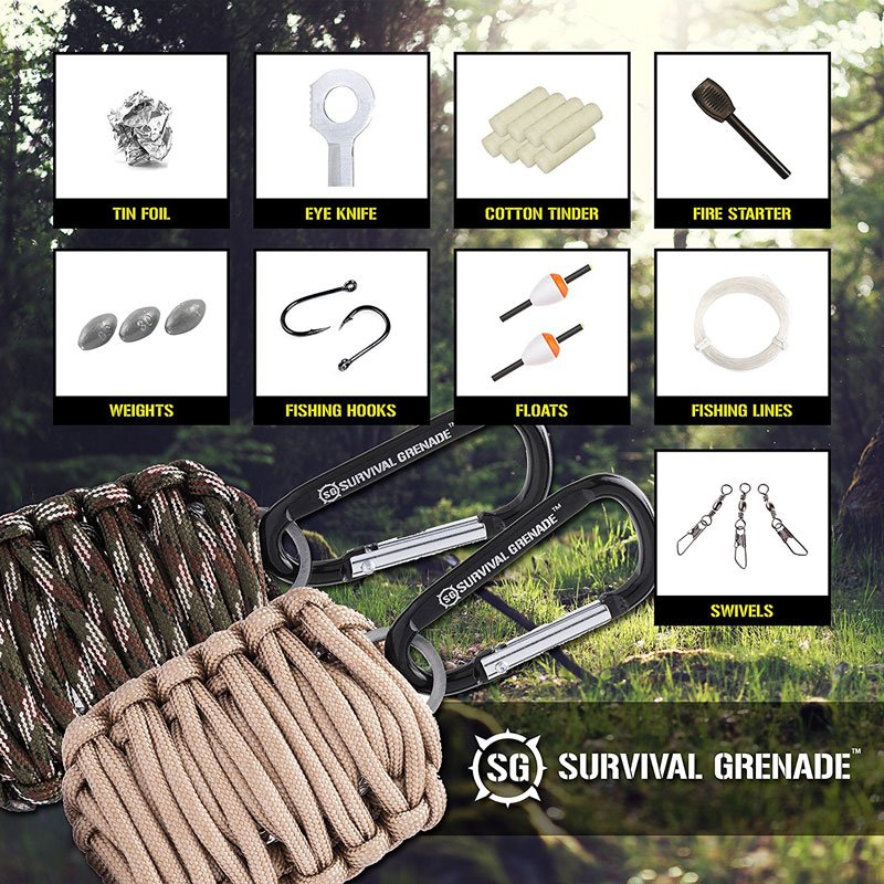 $6.99 (Reg. $28) Survival GREN...