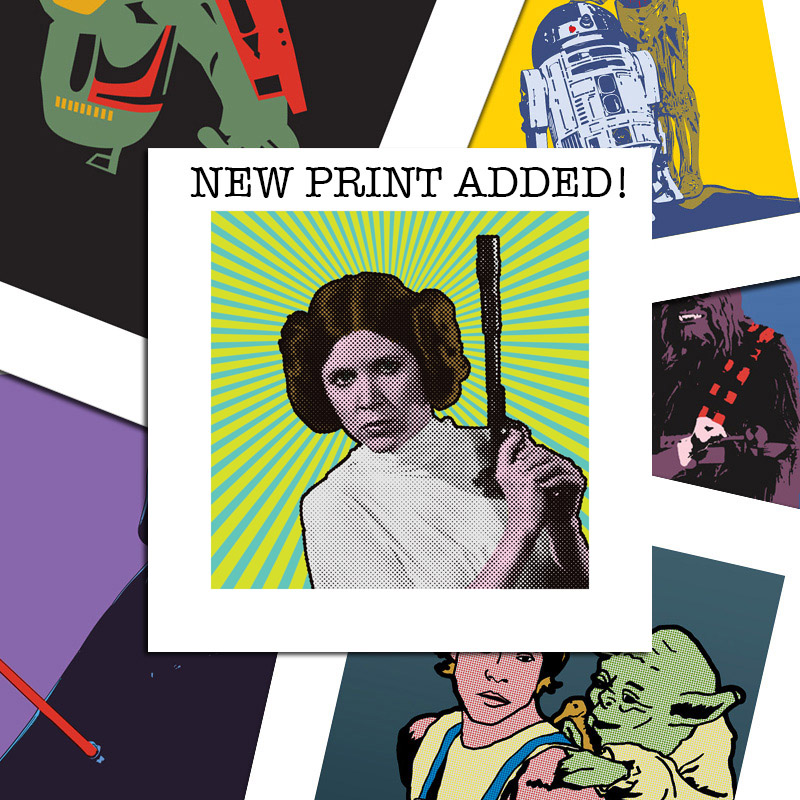 Star Wars Inspired Pop Art Pri...