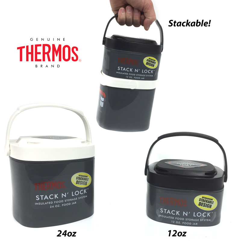 Thermos Stack N Lock Insulated Food Storage System 12 oz.