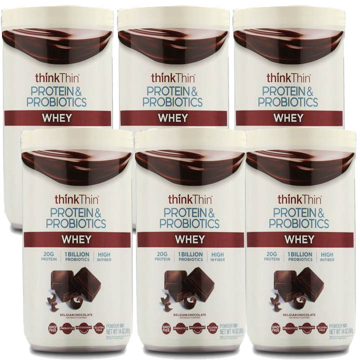 6-Pk thinkThin Protein & Probiotics