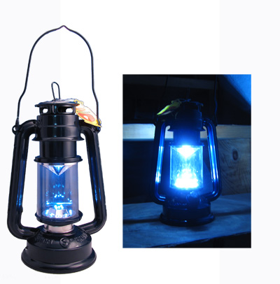 Super Bright 15 LED Storm / Hurricane Lantern With Dimmer - Great for Emergencies & Everyday Use! - SHIPS  FREE!