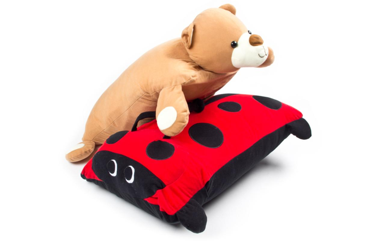 Full Size Instant Plush Pillow Case Buddy - Turn Any Pillow Into a Buddy! - SHIPS FREE