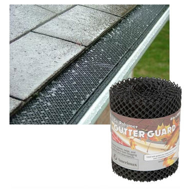 Gutter Guard Mesh - Stop Leaves From Clogging Up in Your Gutters - SHIPS FREE!
