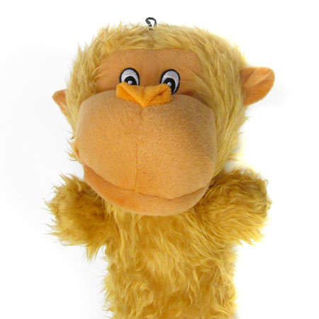 Monkey Squeaker Toy For Dogs - Extremely Large and Gigantic Sizes Available