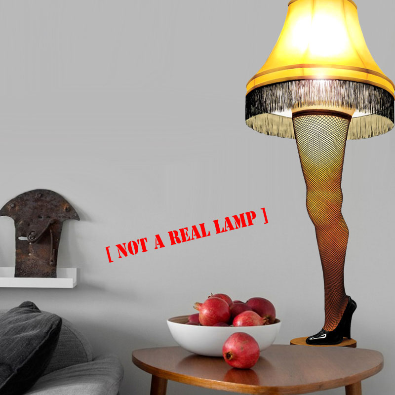 A Christmas Story Inspired - Leg Lamp Wall Cling - It's a Major Award! - SHIPS FREE!