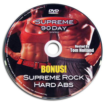 Supreme 90 Day - Rock Hard Abs DVD