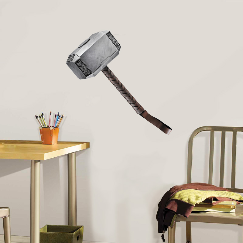 Thor's Hammer - Life Size Wall Cling - SHIPS FREE!
