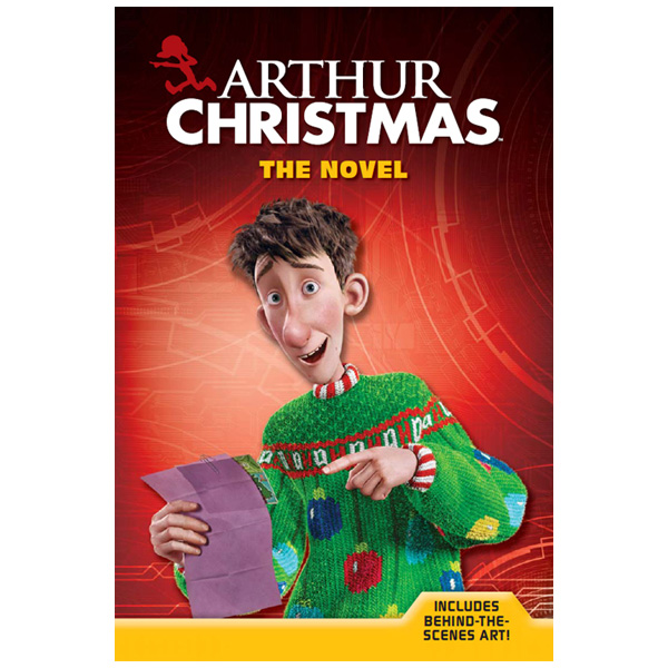 Arthur Christmas: The Novel - SHIPS FREE!