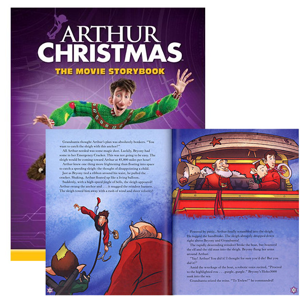 Arthur Christmas: The Movie Storybook - SHIPS FREE!