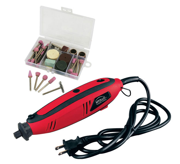 Apollo Tools Electric Rotary Tool With With 100 Accessories