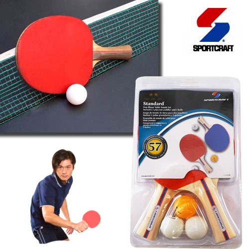 SportCraft Two Player Table Tennis Set