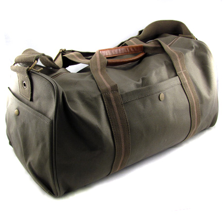 Heavy Duty Overnight Canvas Duffel Bag from Atchison by BIC - SHIPS FREE!