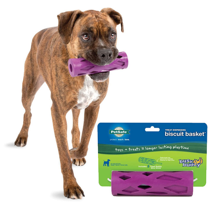 Busy Buddy Biscuit Basket by PetSafe - For Medium Size Dogs - SHIPS FREE!