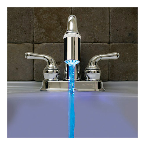 Blue Faucet Light - Add a Brilliant Blue Light Stream To Any Faucet! - SHIPS FREE!