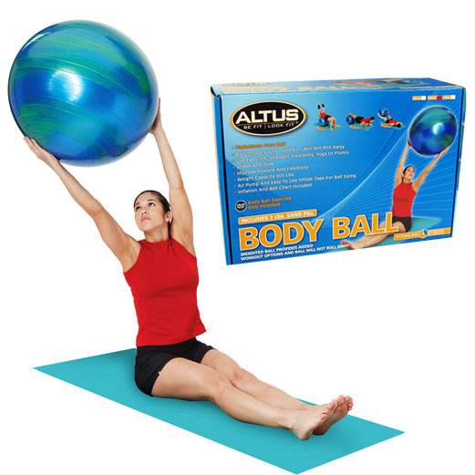 Altus Weighted Body Ball - Available in 75 and 55 Centimeter Diameters - SHIPS FREE!