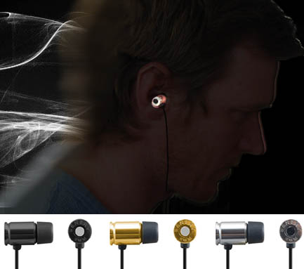 9mm Bullet Noise Reduction Earbuds - Choose Color at Checkout! SHIPS FREE