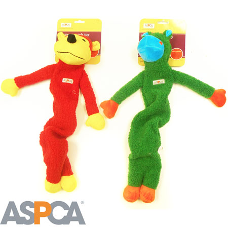 ASPCA Stuffingless Sherpa Bungee Toys - As low as $2.99 each! - Ships Free!