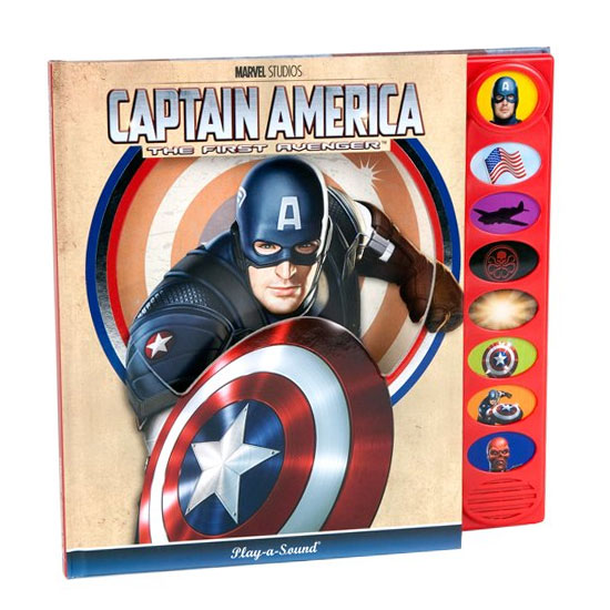 Captain America - The First Avenger - Sound Book