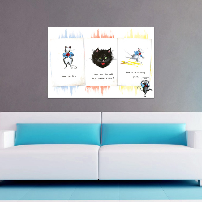 A Cat and Mouse Short Story - POSTER (2 sizes available) - SHIPS FREE!