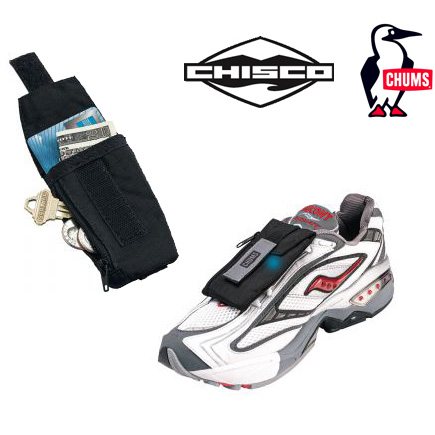 Chums / Chisco Shoe Pocket With Reflector Strip - SHIPS FREE