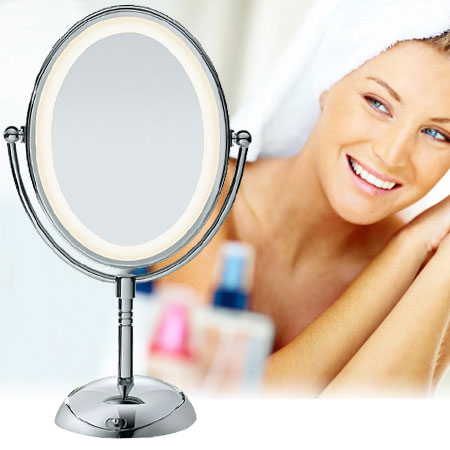 Conair Double Sided Oval Illuminated Mirror