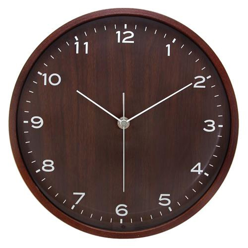 Contemporary Wood Wall Clock - 10