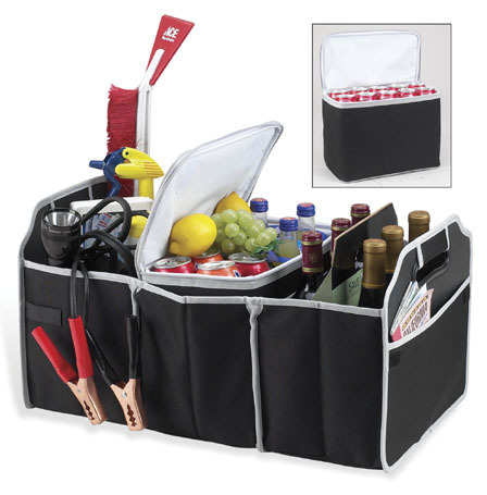 Collapsible Trunk Organizer - For All That Junk In Your Trunk!