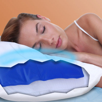 Gel Cooling Pad - Relieves Hot, Stressed & Stiff Muscles & Cools Your Pillow! - SHIPS FREE!