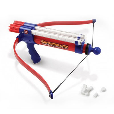 Marshmallow Double Barrel Crossbow Shooter