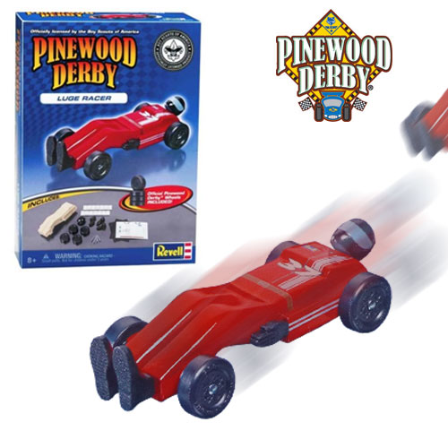 Pinewood Derby Racer Kit - SHIPS FREE!